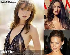 s 2009 quot 100 quot list wilde leads the list followed by megan fox and bar refaeli