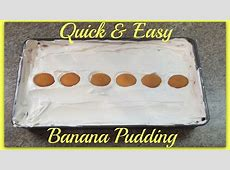 easy banana pudding_image