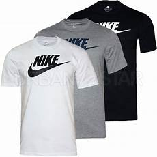 new mens nike t shirt retro sports nike logo top crew