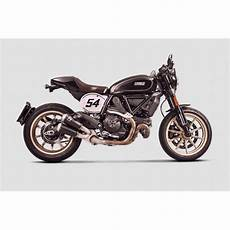 Ducati Cafe Racer Akrapovic akrapovic ducati scrambler cafe racer 2017 2019 titanium 2