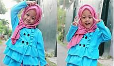 Lucunya Gaya Busana 4 Hijabers Cilik Yang Popular Di