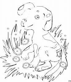 Malvorlagen Tiere Blumen Hund Mit Blumen Ausmalbild Malvorlage Tiere
