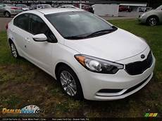 kia forte white 2014 kia forte lx snow white pearl gray photo 2