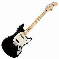 Fender Mustang Mn Black At Gear4music