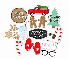 christmas photo booth props christmas party props holiday photo booth merry and bright