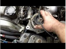 How to Replace Your Alternator 92 00 Honda Civic   YouTube