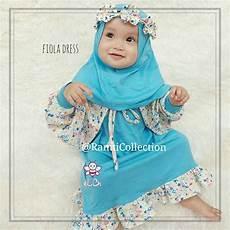 jual baju bayi muslim lucu l pusat gamis balita l fiola di lapak ramti collection ramti collection