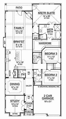 granite peak ranch floor plans narrow floor plans archival designs