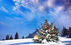christmas landscape wallpapers wallpaper cave
