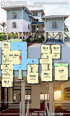 house on stilts floor plans beach house plans on stilts house decor concept ideas