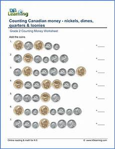 learning to count money worksheets printable 2724 grade 2 money worksheets counting canadian coins k5 learning