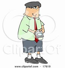 coloring pages 17619 caucasian businessman using a smart phone to check his email clipart illustration by
