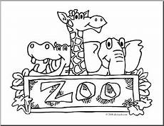 free coloring pages for zoo animals 17390 clip zoo graphic coloring page preview 1 zoo coloring pages clip