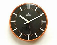 70s space age junghans wall office clock panton bauhaus