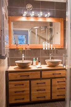 meuble sous vasque original pour salle de bain
