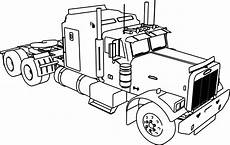 truck coloring pages 16521 trailer truck coloring page wecoloringpage