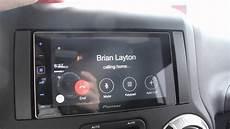 pioneer appradio 4 apple carplay demo