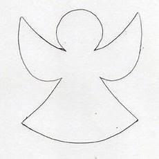 Malvorlagen Engel Einfach Engel Vorlage Umrisse Engel Engel Vorlage