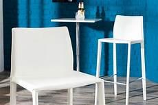Design Stuhl Weiß - exklusiver design barstuhl echt leder wei 223