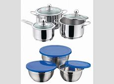 Vinod Induction Friendly Cookware Set With Free 3 Pcs Bowl