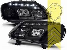 led tagfahrlicht optik scheinwerfer f 252 r vw touran caddy 3