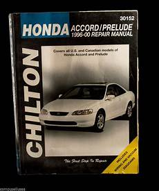 online car repair manuals free 2003 honda accord windshield wipe control onsalenow ebay chilton honda accord and prelude 1996 00 chilton s repair manual hondaaccord