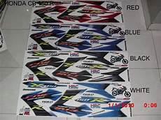 Striping Cb150r Variasi by Jual Striping Motor Honda Cb150r Variasi Di Lapak Radian