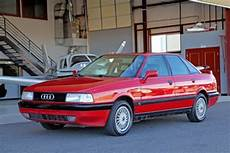 vehicle repair manual 1989 audi 90 transmission control classic 1988 b3 audi 90 quattro 5 speed tornado red black leather for sale detailed