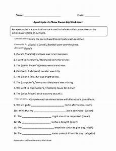 apostrophes to show ownership worksheet englishlinx com board pinterest worksheets
