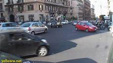 Naples Italy Traffic Left Turn Yield Or Not