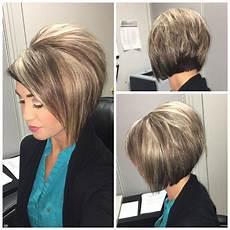 stacked bob haircut with highlights dark hair hair hair stacked bob hairstyles