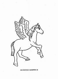 ausmalbilder pegasus pferd tiere zum ausmalen