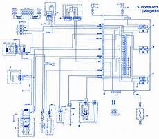fiat x1 9 1986 horn electrical circuit wiring diagram carfusebox