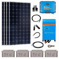 kit solaire autonome 1360w 230v monocristallin