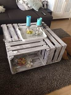 Diy Weinkisten Tisch Kosten Ca 25 Mit Bodenplatte