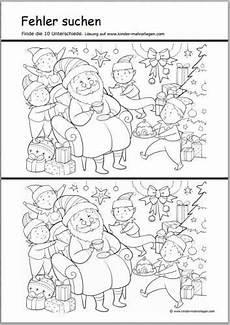 www kinder malvorlagen fehler suchen weihnachtsr 228 tsel freeware de