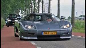 Koenigsegg CC8S  Brutal Sound 1080p HD YouTube