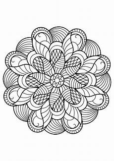 Malvorlagen Mandalas Gratis Mandala From Free Coloring Books For Adults 6 Mandalas