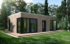 Kleiner Bungalow Fertighaus - ecohome42 portfolio massivholz bungalow l40