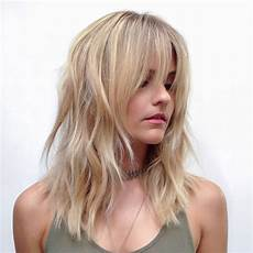 22 medium length hairstyles for thin hair in 2018