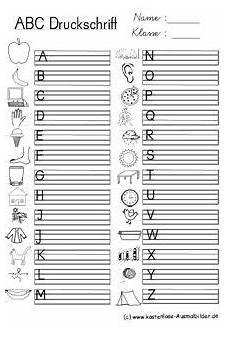 ausgangsschrift vorlage lettering school