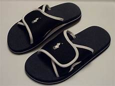 polo ralph mens flip flop sandals navy 8 9 10 11 ebay