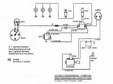 12 volt tractor alternator wiring diagram using a chrysler alternator to convert tractor to 12v