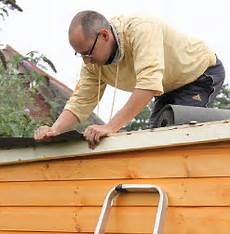 how to keep your shed weatherproof with shed roof felt