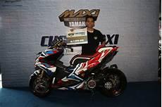 Modifikasi Aerox 2019 by Customaxi Bali 2019 Ini Pemenang Modifikasi Nmax Aerox