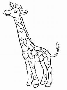 giraffen ausmalbilder ausmalbilder giraffen