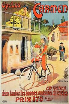 art nouveau vintage bicycle poster for cycles by marodon 1906 187 vintage posters