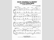 have yourself a merry christmas piano pdf