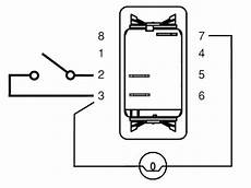 Boat Leveler Wiring Diagram by New Wire Marine Carling Contura On Rocker Switch