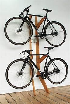 Fahrrad Wandhalterung Selber Bauen - fahrradst 228 nder aus holz zum selbermachen fahrrad